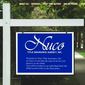 Nuco Title Insurance Website