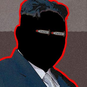 Editorial Illustration about North Korean Leader, Kim Jong Un