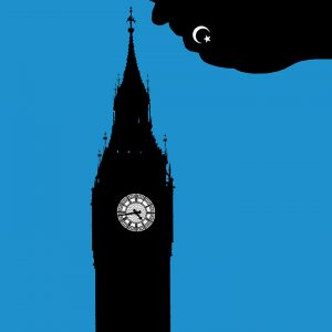 Editorial Illustration about the Terrorism in London