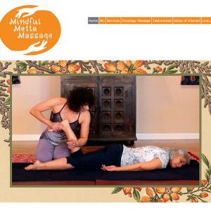 Website for a Massage Therapist located in Doylestown, PA