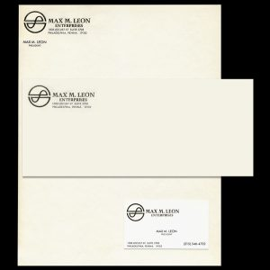 Max M. Leon Enterprises Brand Identity