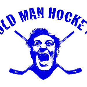 T-Shirt Design for Men's Hockey League