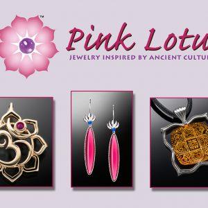 Pink Lotus Banner